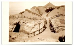 RPPC Sunset Cliffs, Point Loma, CA Real Photo Postcard