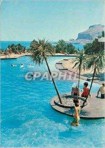 Postcard Modern Cefalu Club Mediterranee La Piscina