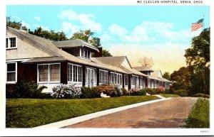 Ohio Xenia McClellan Hospital Curteich