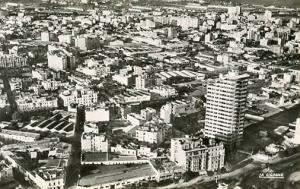 Morrocco - Casablanca. Quartier et immeuble Liberte - RPPC