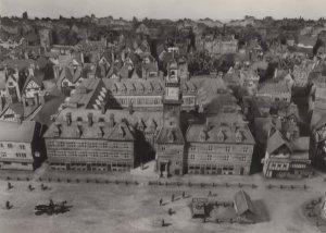 Royal Exchange Cornhill London Model Museum Medieval Exhibit Postcard