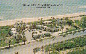 Florida Marineland An Aerial View Of The Marineland Motel Facing The Atlantic...