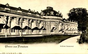 Germany - Gruss Aus Potsdam, Sanssouci Castle