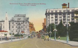 VICTORIA , B.C. , Canada , 1930s ; Government Street