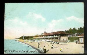 Euclid Beach View Cleveland OH Used 1909