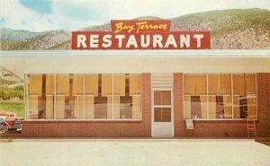 Colorado Springs Colorado Terrace Cafe 1950s M&B Studios Postcard 21-5987