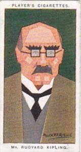 Player Vintage Cigarette Card Sea Fishes No 33 Rudyard Kipling  1926