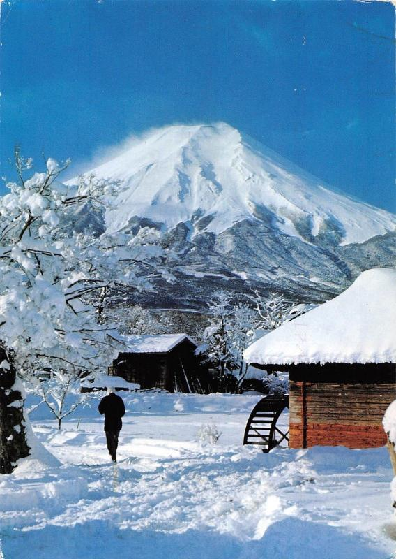 BT11688 the view of mt fiji from oshino village       Japan