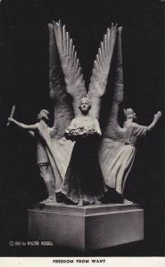 The Four Freedoms, Walter Russell, Sculptor, New York,  40-60s