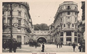 ROMA, Lazio, Italy, 1900-1910s; Tunnel Del Quirinale