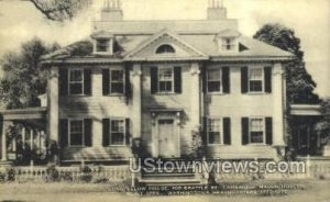 Longfellow's Home Cambridge, Massachusetts MA
