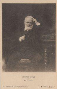 Victor Hugo Par Bonnat Antique French Painting Postcard