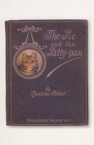 The Pig & The Patty Pan Beatrix Potter First Edition Book Postcard