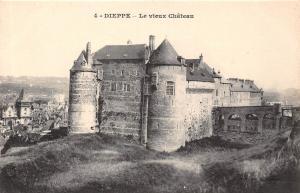 France Dieppe Le Vieux Chateau Castle Schloss