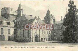 Postcard Old Surroundings of Vichy Busset Chateau de La Chapelle