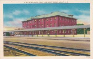 North Carolina Rocky Mount Atlantic Coast Line Railway Depot