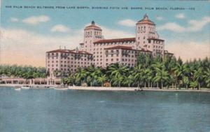 Florida Palm Beach The Biltmore From Lake Worth