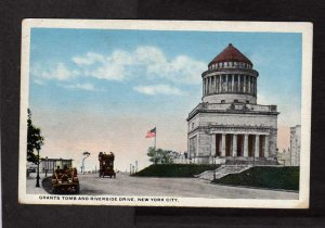 NY General U S Grant Tomb Monument Burial New York City Postcard