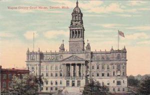 Michigan Detroit Wayne County Court House