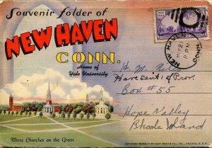 Folder -  CT, New Haven    18 views + narrative