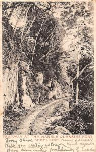 South Africa Tramway at the Marble Quarries Port Shepstone 1906