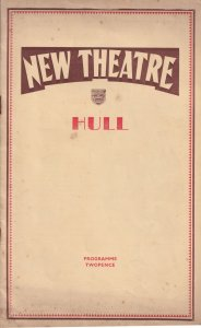 What Say They Yvonne Arnaud Cecil Trouncer Hull Yorkshire Theatre Programme