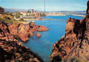 France Cote d'Azur, La Napoule, plage, Chateau, nouveau port de Mandelieu