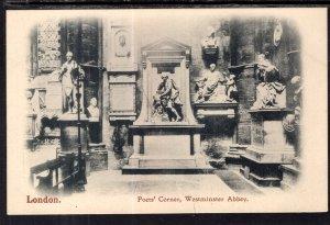 Poets' Corner,Westminster Abbey,London,England,UK