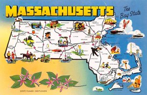 Maps Massachusetts USA Unused