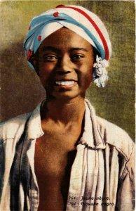 CPA Lehnert & Landrock 764 Jeune negre TUNISIE (873565)