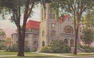 Illinois Watseka First Methodist Church Curteich