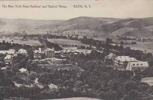 New York Bath The New York State Soldiers Home Albertype