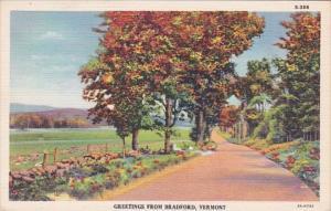 Vermont Greetings From Bradford Curteich