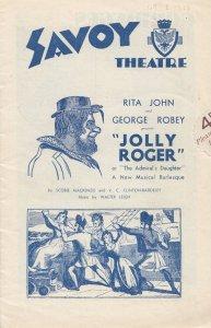 Jolly Roger Rita John Musical Burlesque Pirates Dirty Dick Old London Theatre...