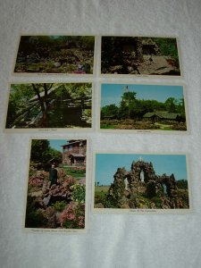 Rudolph WI - Lot Of 6 Great Vintage Postcards - x0484