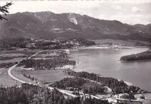 Austria Blick vom Tabor auf den Faakersee Real Photo