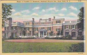 New York Hyde Park Home Of Franklin D Roosevelt National Historic Site 1948 C...