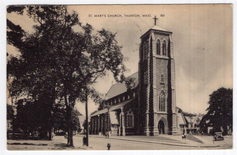 Taunton, Mass, St. Mary's Church