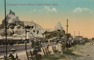 REVERE BEACH, Massachusetts, 1900-10s ; Thompson Railway #2