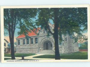 W-border LIBRARY SCENE Batavia New York NY AF1665