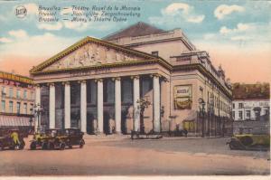 Money's Theatre Opera, Brussels (Brussels), Belgium, 1910-1920s