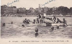 DINARD, Ille Et Vilaine, France, 1900-1910's; The Hotel Royal And The Hotel C...