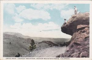 DENVER, Colorado, 1900-1910's; Eagle Rock, Lookout Mountain, Denver Mountain ...