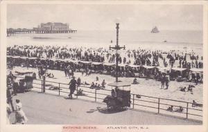 Bathing Scene Atlantic City New Jersey Albertype