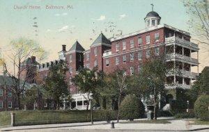 BALTIMORE , Maryland , 1909 ; Church Home