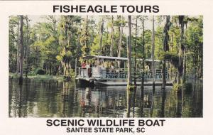 Fisheagle Tours,  Scenic Wildlife Boat,  Santee State Park,  South Carolina, ...