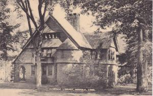 NORFOLK, Connecticut, 1900-1910's; Eldridge Library