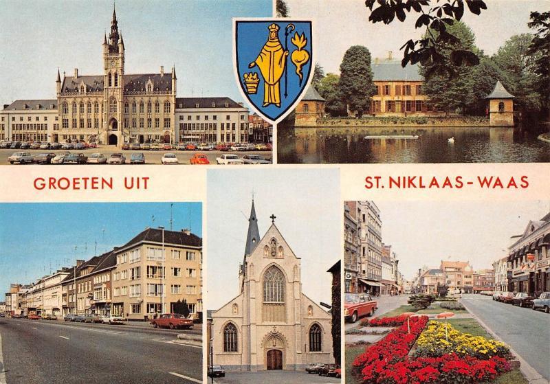Groeten uit St Niklaas Waas multiviews Church Street