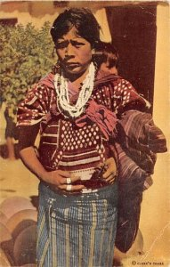 Indian Woman Chichicastenango Guatemala, Central America Unused
