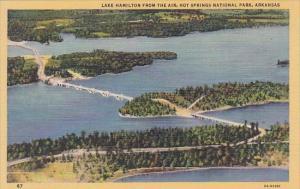 Lake Hamiliton From The Air Hot Springs National Park Arkansas